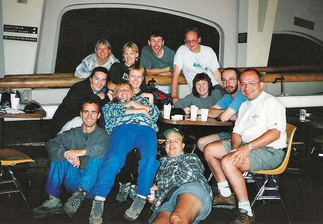 The reunion's of The Rocky Mountaineer's of 1995